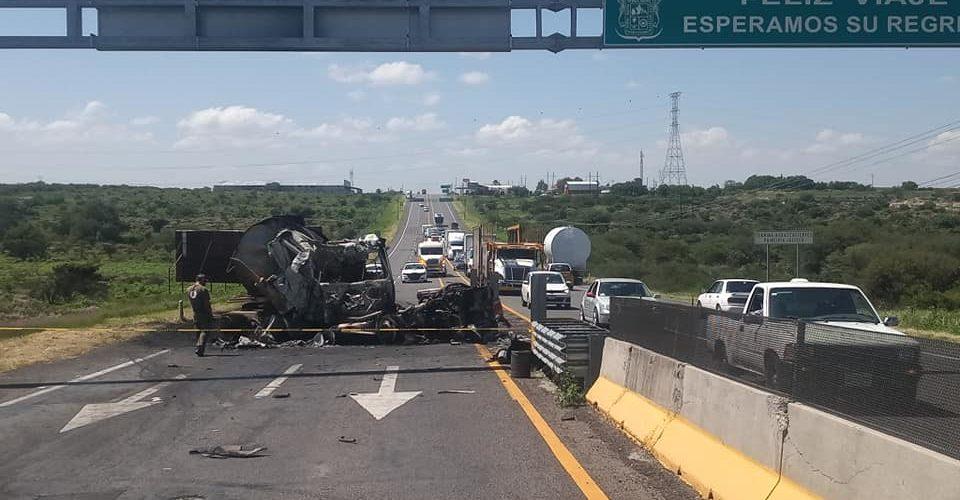 Reportan tráfico lento en carretera Aguascalientes – Jalisco