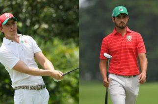 Golfistas mexicanos se mantienen en la pelea por las medallas