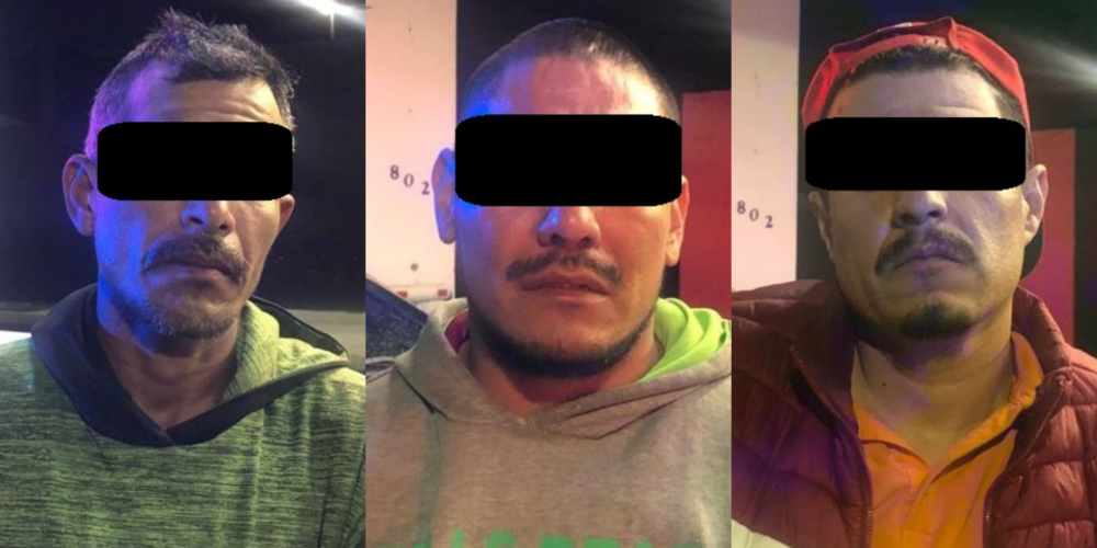 Detienen a 4 sujetos armados en Aguascalientes. Venían de Jalisco, Sonora y San Luis Potosí