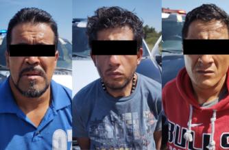 Caen tres sujetos dedicados al robo de vehículos en Asientos
