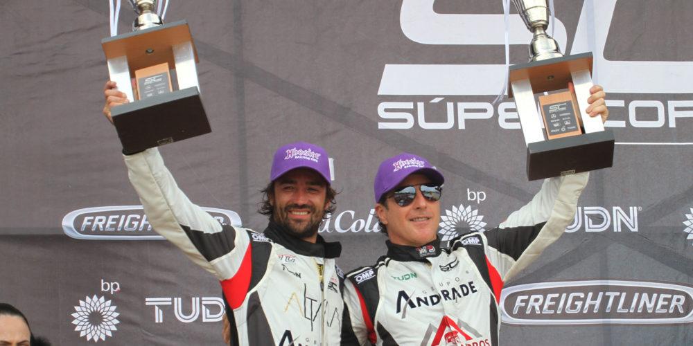 Equipo Alessandros Racing ganó la carrera en Querétaro