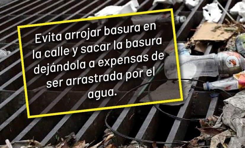 Ayuntamiento de Calvillo llama a no tirar basura en las calles