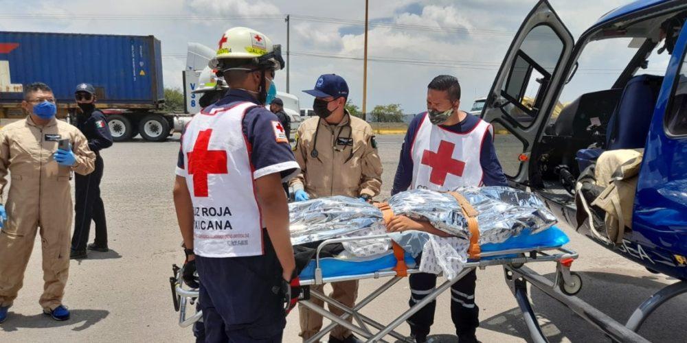 Adolescente termina grave en el HH tras recibir golpe de ensiladora en Jalisco