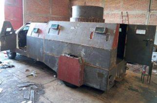 Decomisan camiones monstruo, vehículos de lujo y armas al CJNG