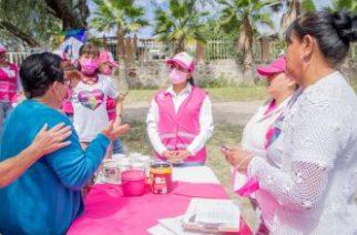 """Más de 3 mil mujeres participan como """"Agentes Rosas"""" para combatir la violencia de género"""