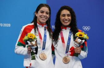 Las clavadistas mexicanas Alejandra Orozco y Gabriela Agúndez alcanzan el bronce en Tokio