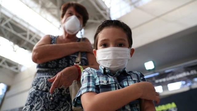 Más de mil 200 menores han dado positivo a Covid-19 en Aguascalientes