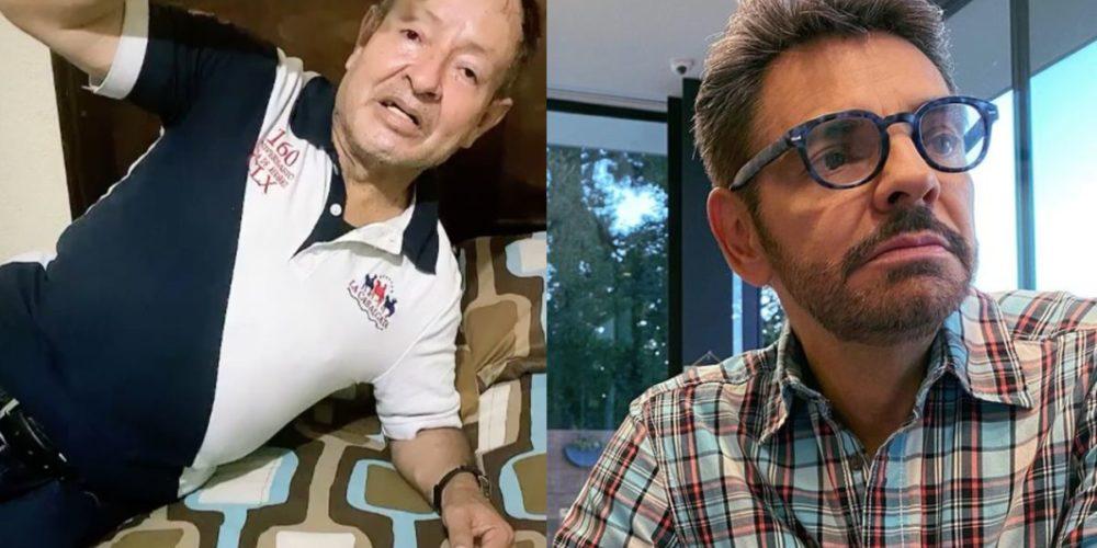 Eugenio Derbez responde a críticas por hospitalización de Sammy