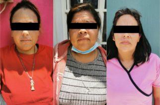 Detienen a distribuidoras de droga en El Llano