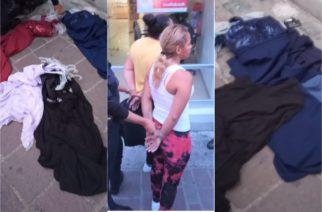 La policía impidió que Cinthia y Elida se ajuarearan gratis en boutique de la Madero