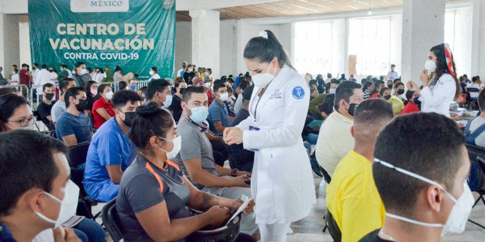 Anuncian vacunación contra Covid para mayores de 18 años en El Llano, Tepezalá y SFR