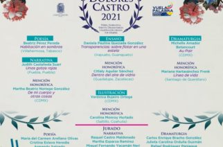 Checa a las ganadoras del premio Dolores Castro 2021