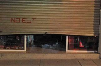 Insatisfechos empresarios de Aguascalientes con la ligera baja en robo a negocios