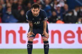 Messi sufre lesión y es baja ante el Metz