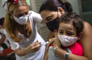 Cuba comienza con vacunación contra Covid-19 entre niños mayores de 2 años