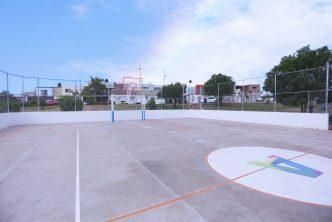Amplia municipio los espacios deportivos