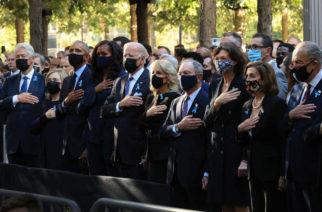 Biden recuerda a las víctimas del 11 de septiembre