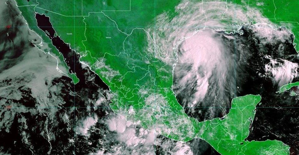 Alertan sobre lluvias fuertes en Tamaulipas, Puebla y Veracruz por la tormenta tropical Nicholas