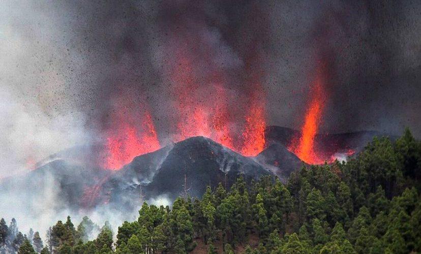 Los peligros ambientales de la erupción del volcán en La Palma