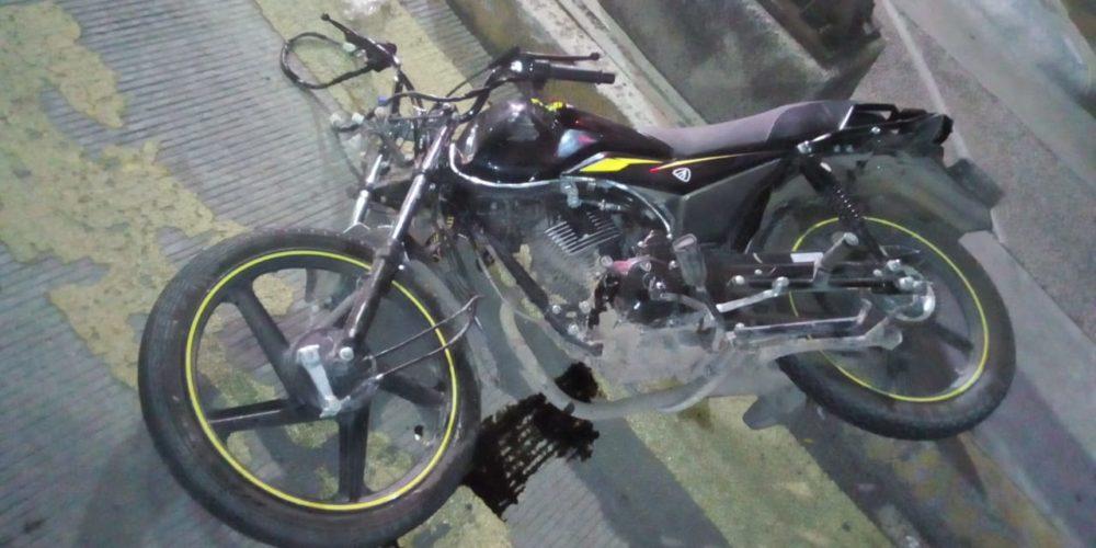 Murió motociclista que fue embestido por camioneta en el Cerrito de la Cruz