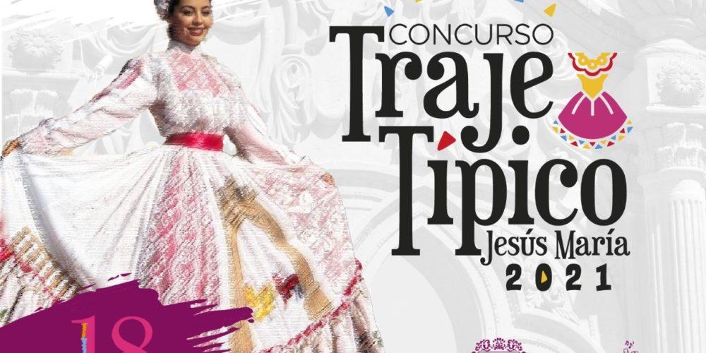Realizarán concurso de traje típico en Jesús María