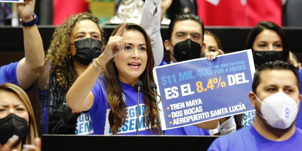 Tere Jiménez propone crear Seguro de Desempleo