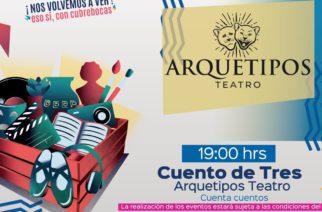 Arquetipos Teatro se presentará este domingo en el corredor cultural Carranza