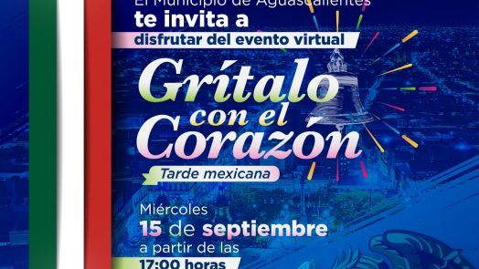 Municipio celebrará la independencia de México con un programa virtual