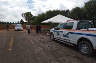 Protección Civil de Aguascalientes mantiene supervisión en Río San Pedro
