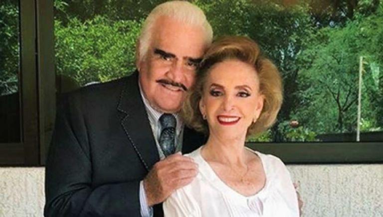 """Hospitalizan a """"Doña Cuquita"""", la esposa de Vicente Fernández"""