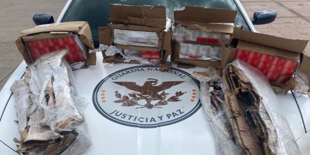 Guardia Nacional encuentra 6 mil cartuchos y armas largas en tráiler en Zacatecas