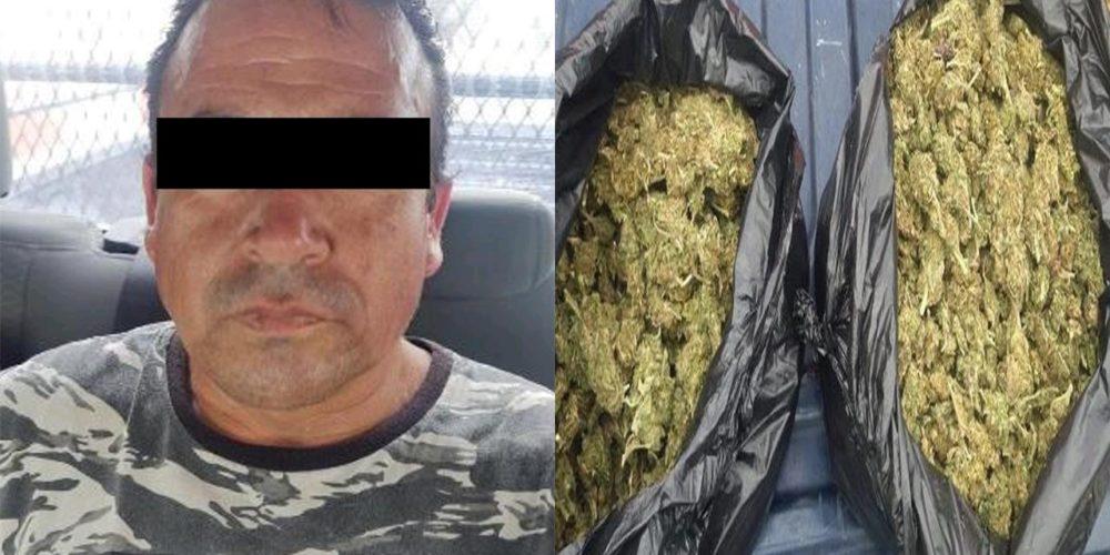 Detienen a dos sujetos con 3 kilos de marihuana en VNSA