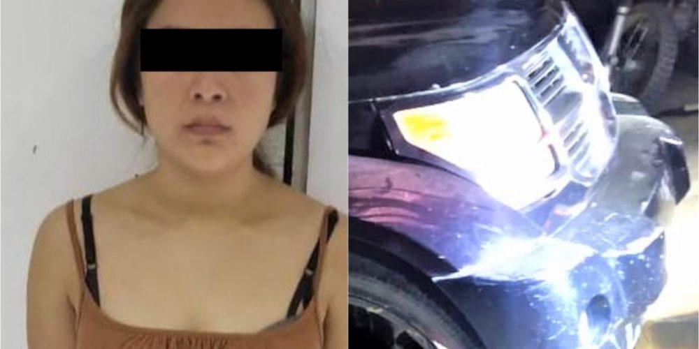 María Guadalupe atropelló a una menor en El Llano