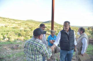 Municipio de JM comprometido con el campo