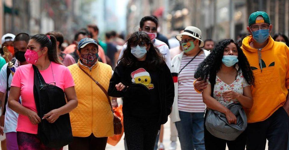 No se frenan los contagios por covid en México