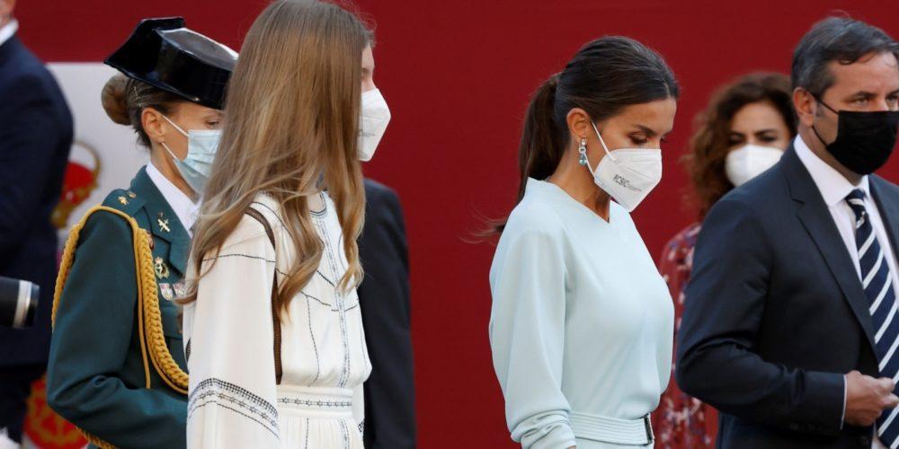 Infanta Sofía causa furor con minivestido