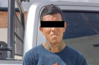 Detienen a José Luis por allanamiento de morada y robo en Pabellón de Arteaga