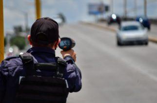 Van más de 15 mil infracciones por exceso de velocidad en el año en Aguascalientes