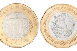 Las monedas conmemorativas de 20 pesos ya alcanzan los miles de pesos en su valor