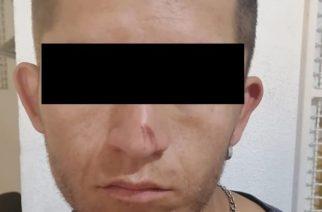 Cae en Asientos sujeto que contaba con una orden de aprehensión por delitos contra la salud