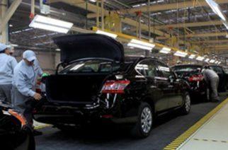 Cae la producción de Nissan en casi 40%