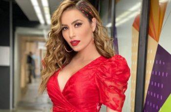 Así es el vestido con el que Cynthia Rodríguez hace suspirar a Carlos Rivera