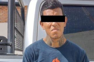 Luis contaba con una orden de aprehensión y fue detenido en Pabellón de Arteaga