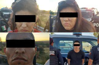 Cae banda de asaltantes en Aguascalientes
