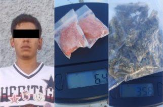 """Cayó """"El Brandon"""" con droga en Rincón de Romos"""