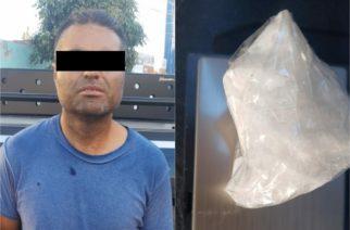 Detienen a zacatecano con droga en Aguascalientes