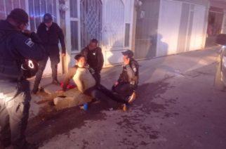 Caminaba rumbo a su casa y fue baleado en Pabellón de Arteaga