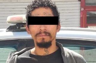 """Detienen en Calvillo a """"El Blass"""", ladrón identificado como blanco prioritario"""